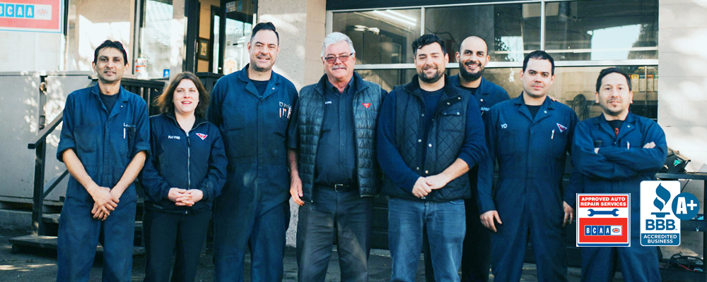 Staff of Tremblay Motors Vancouver, BC
