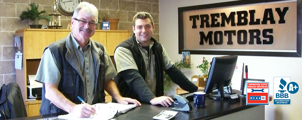 Sam and Brad Tremblay, owners Tremblay Motors Vancouver, BC